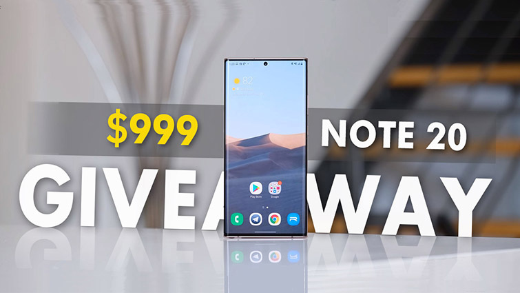 Samsung note 20 giveaway